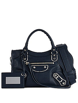 Balenciaga Metallic Edge Mini City Crossbody Bag